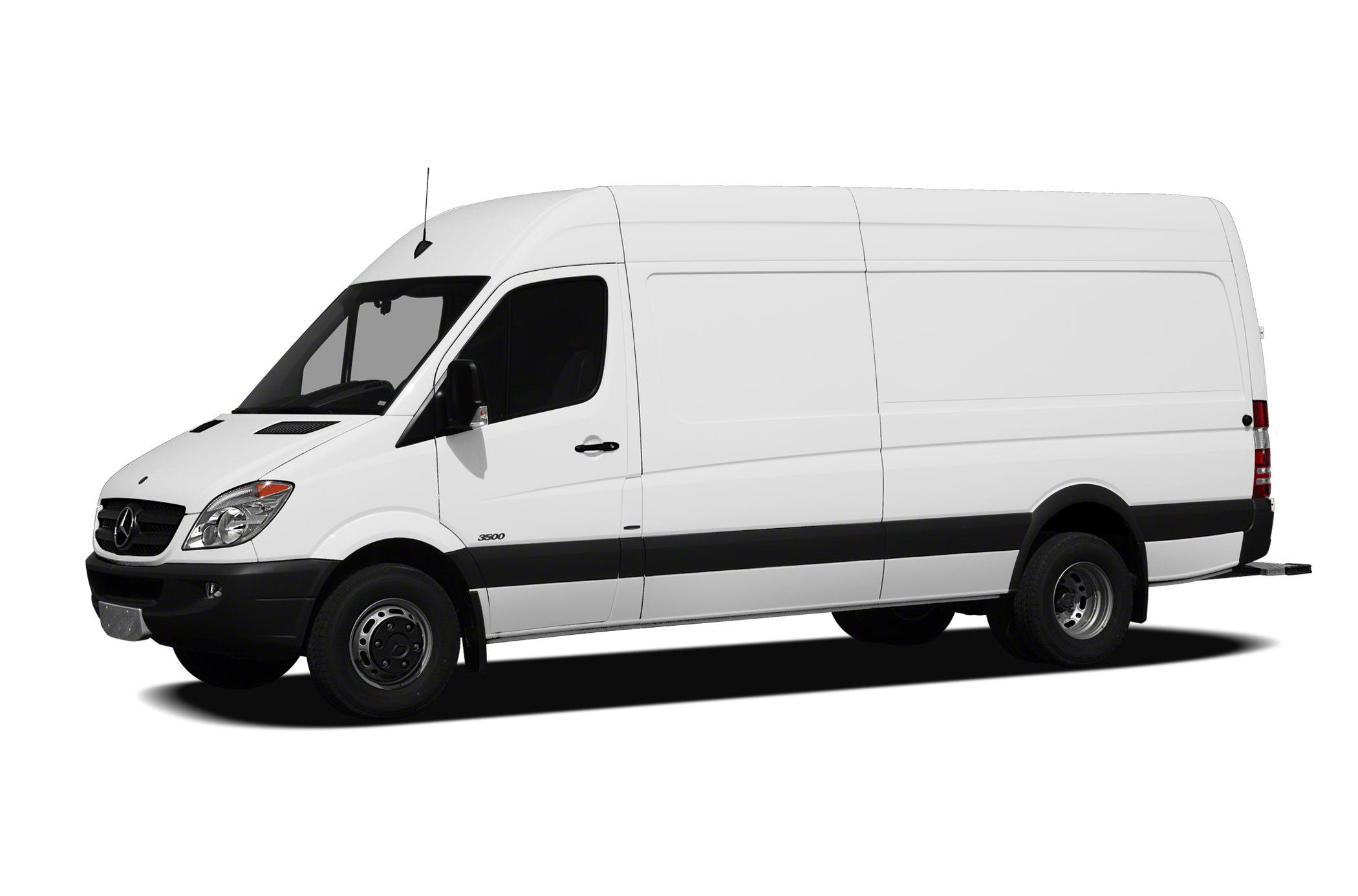 cfa037bcbb High Roof Sprinter Van 3500 Extended Cargo Van 170 in. WB DRW 2010 Mercedes-Benz  Sprinter Van Specs