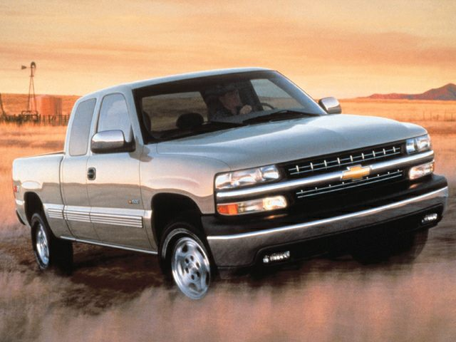 1999 Chevrolet Silverado 1500 Ls 4x4 Extended Cab 8 Ft Box Pictures