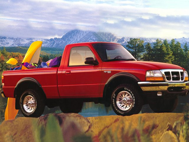 1999 ford ranger 4x4 weight