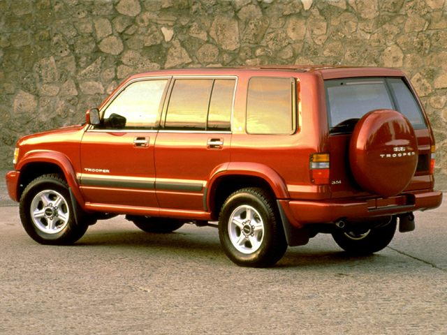 1999 Isuzu Trooper Exterior Photo