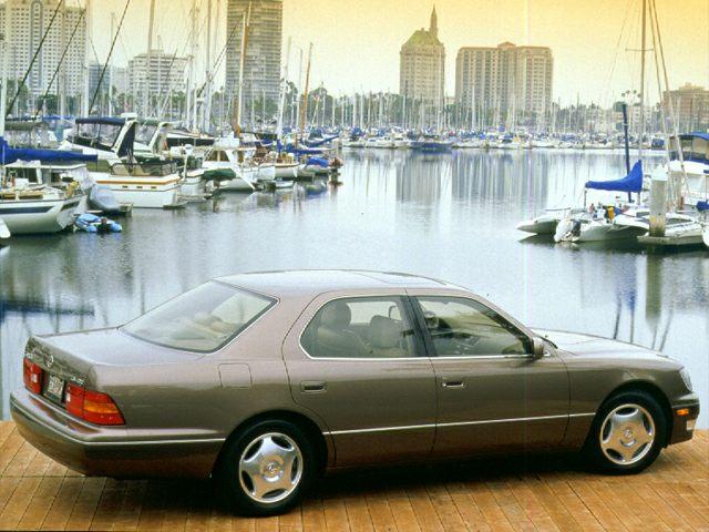 1999 Lexus LS 400 Exterior Photo