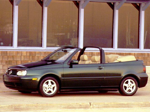 1999 Volkswagen Cabrio Gls 2dr Convertible Pictures