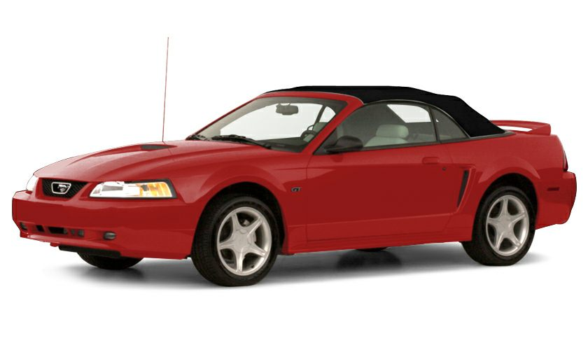 2000 ford mustang gt 2dr convertible information. Black Bedroom Furniture Sets. Home Design Ideas