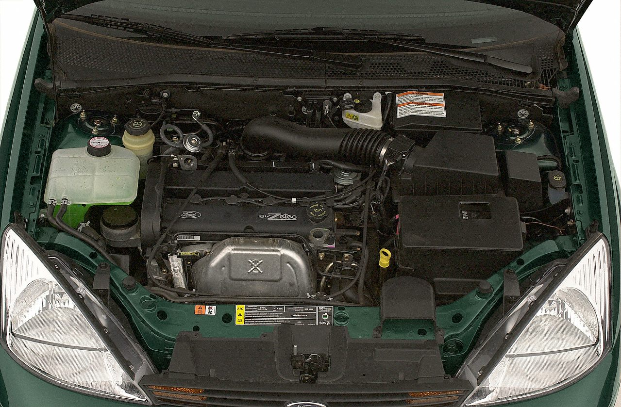 2001 Ford Focus Zx3 Engine