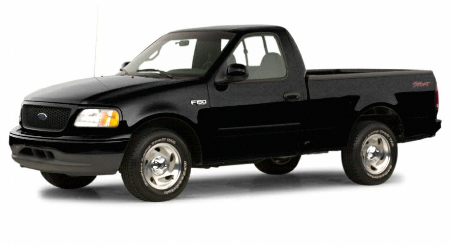 2000 ford f 150 xlt 4x2 regular cab styleside 119 9 in wb. Black Bedroom Furniture Sets. Home Design Ideas