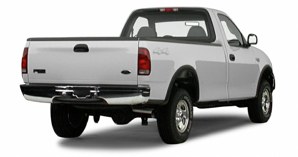 2000 ford f 150 xl 4x4 regular cab styleside 138 8 in wb. Black Bedroom Furniture Sets. Home Design Ideas