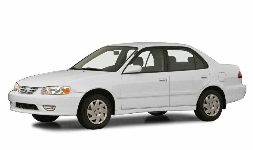 2001 Toyota Corolla New Car Test Drive