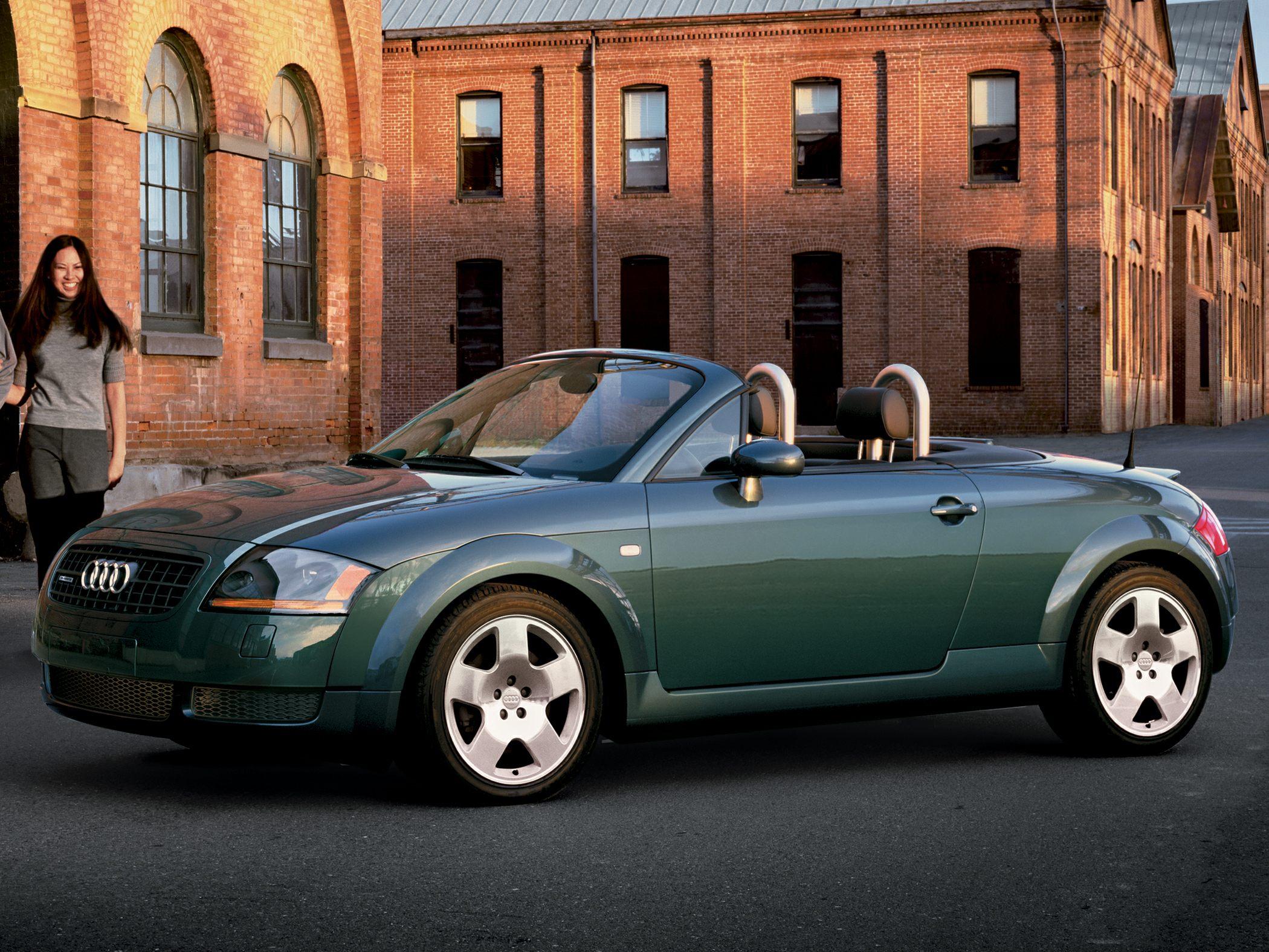 2003 Audi TT New Car Test Drive