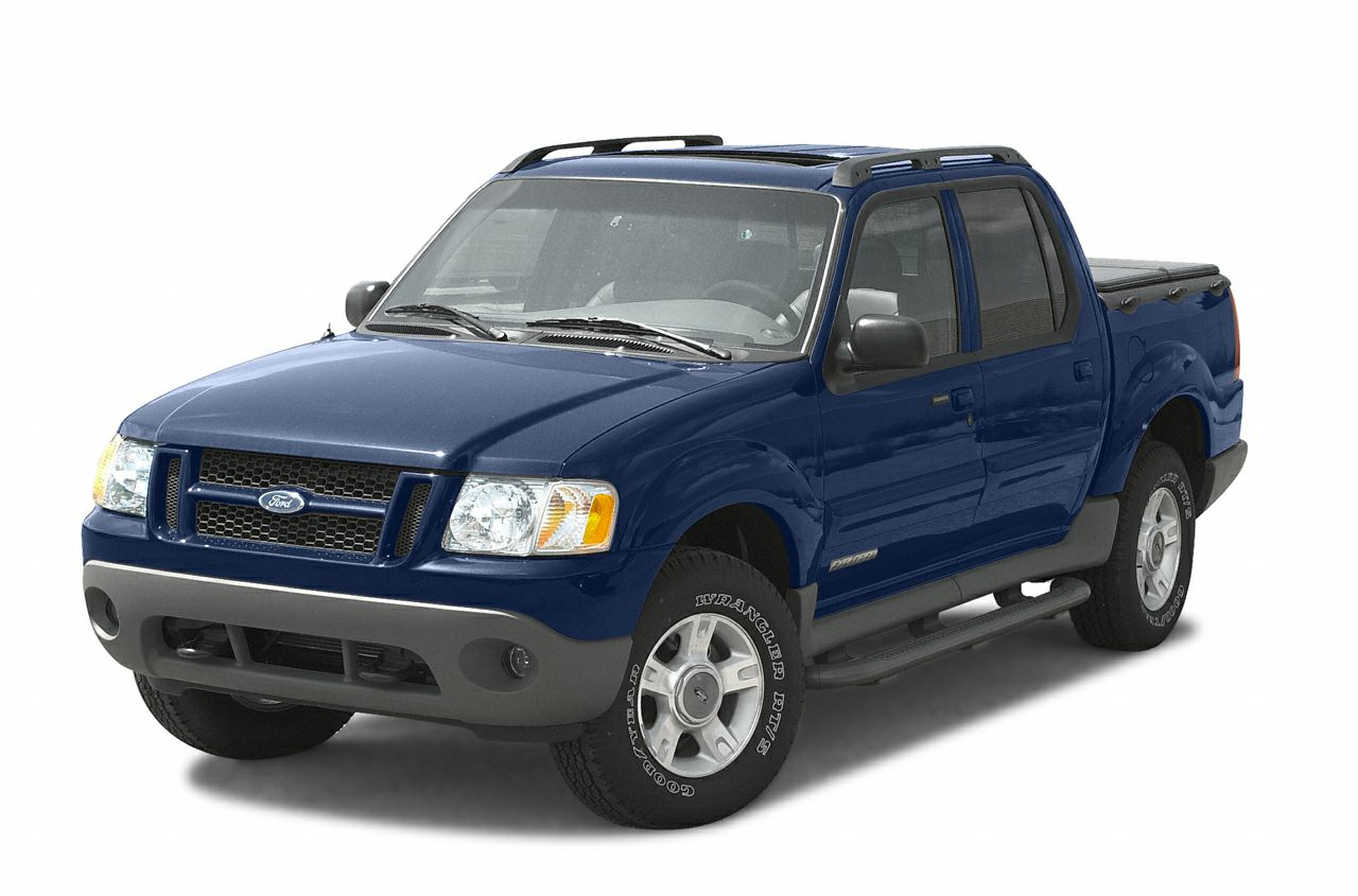 2003 ford explorer sport trac information