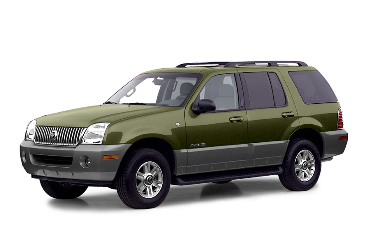 2003 Mercury Mountaineer 4.0L V6 Premier All-wheel Drive ...