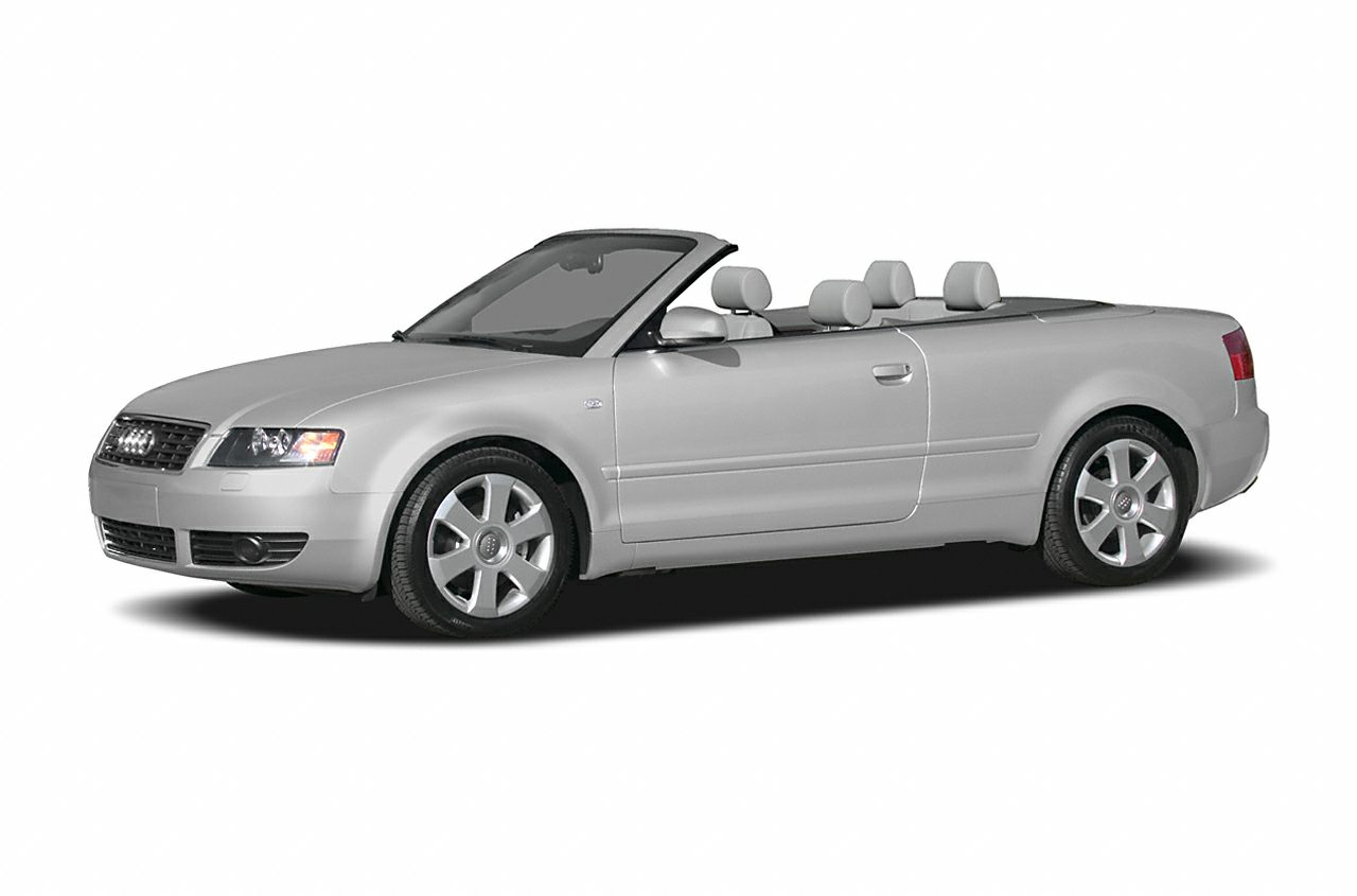 2004 Audi A4 3 0 2dr All Wheel Drive Quattro Cabriolet Specs And