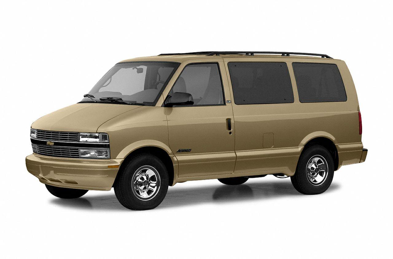 2004 Chevrolet Astro LS All-wheel Drive Passenger Van Specs and Prices