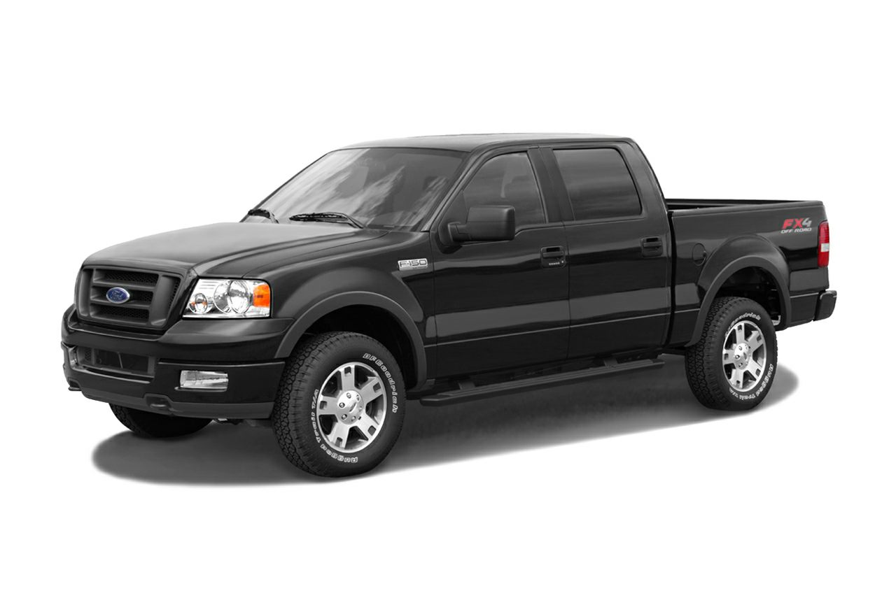 2004 F150 Lariat >> 2004 Ford F 150 Supercrew Lariat 4x4 Styleside 5 5 Ft Box 139 In Wb Pictures