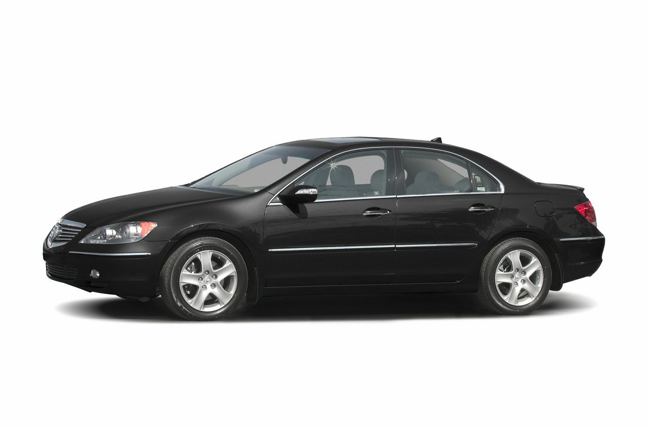 acura rl 2005 features