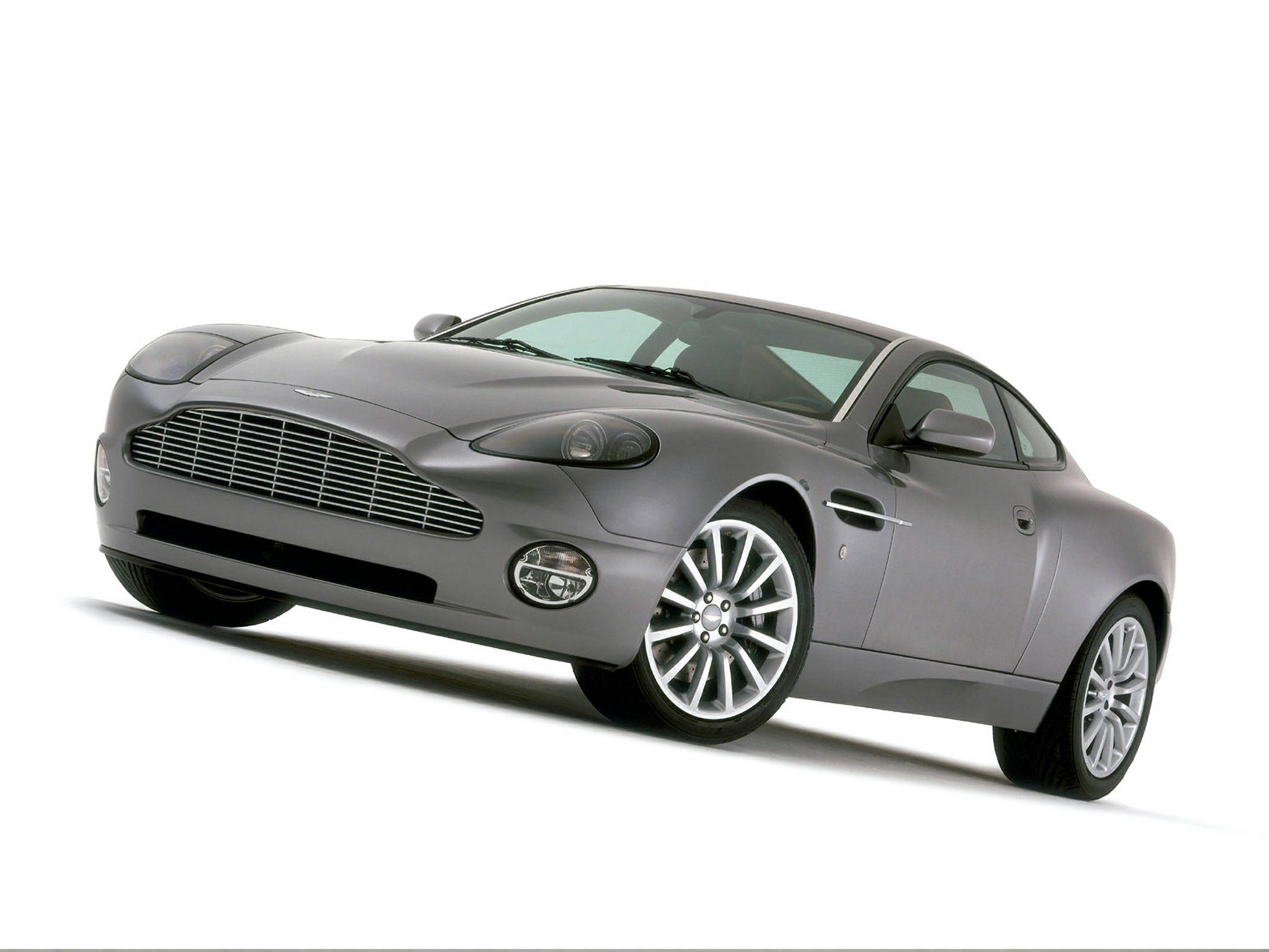 2005 Aston Martin Vanquish vs 2005 Ferrari 575M and 2005 Lamborghini