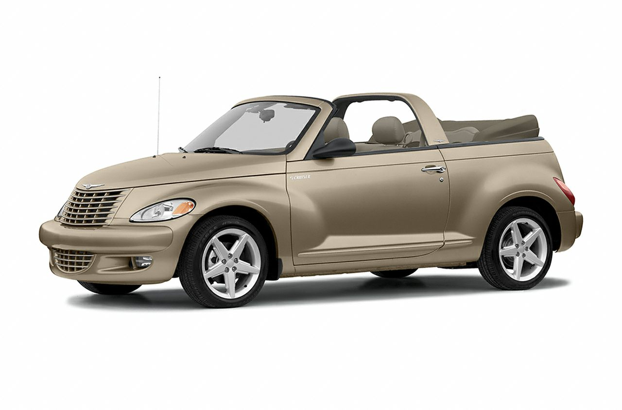 Gt 2dr Convertible 2005 Chrysler Pt Cruiser Specs