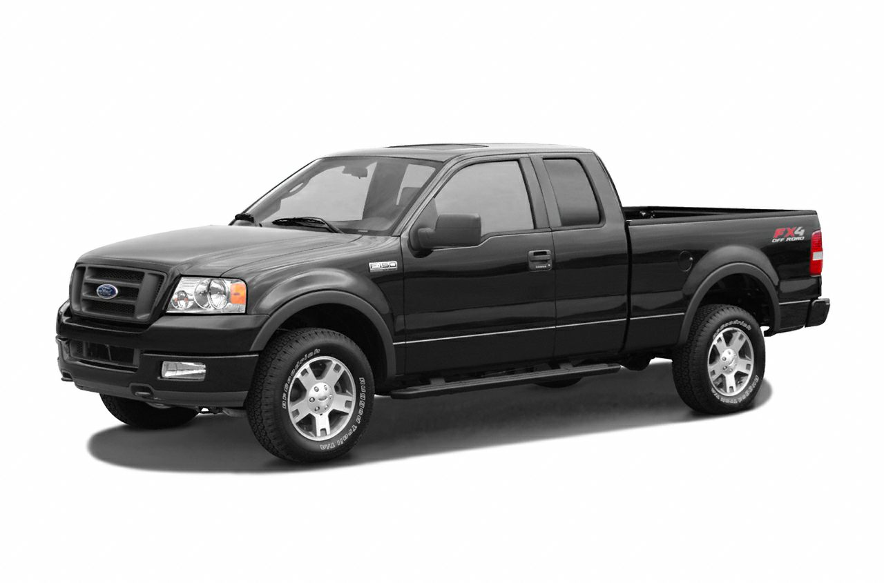 2005 Ford F 150 Xl >> 2005 Ford F 150 Xl 4x4 Super Cab Styleside 6 5 Ft Box 145 In Wb Pictures