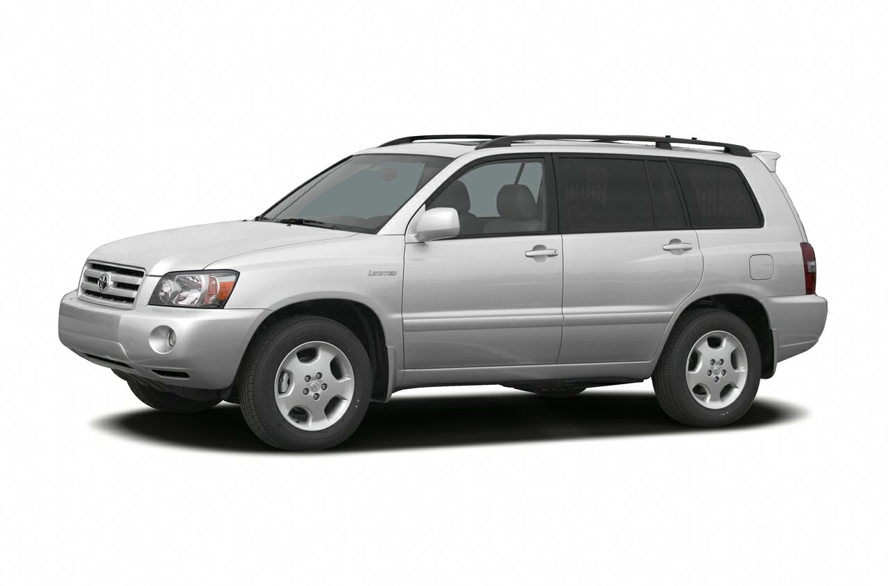 2007 Toyota Highlander V6 4dr All Wheel Drive Specs And Prices