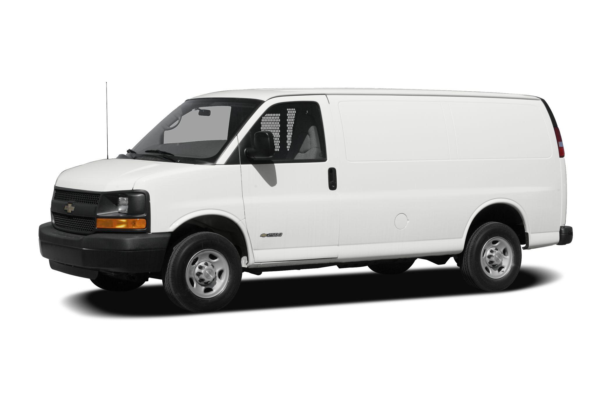 2010 Chevrolet Express 2500 Work Van Rear Wheel Drive Cargo