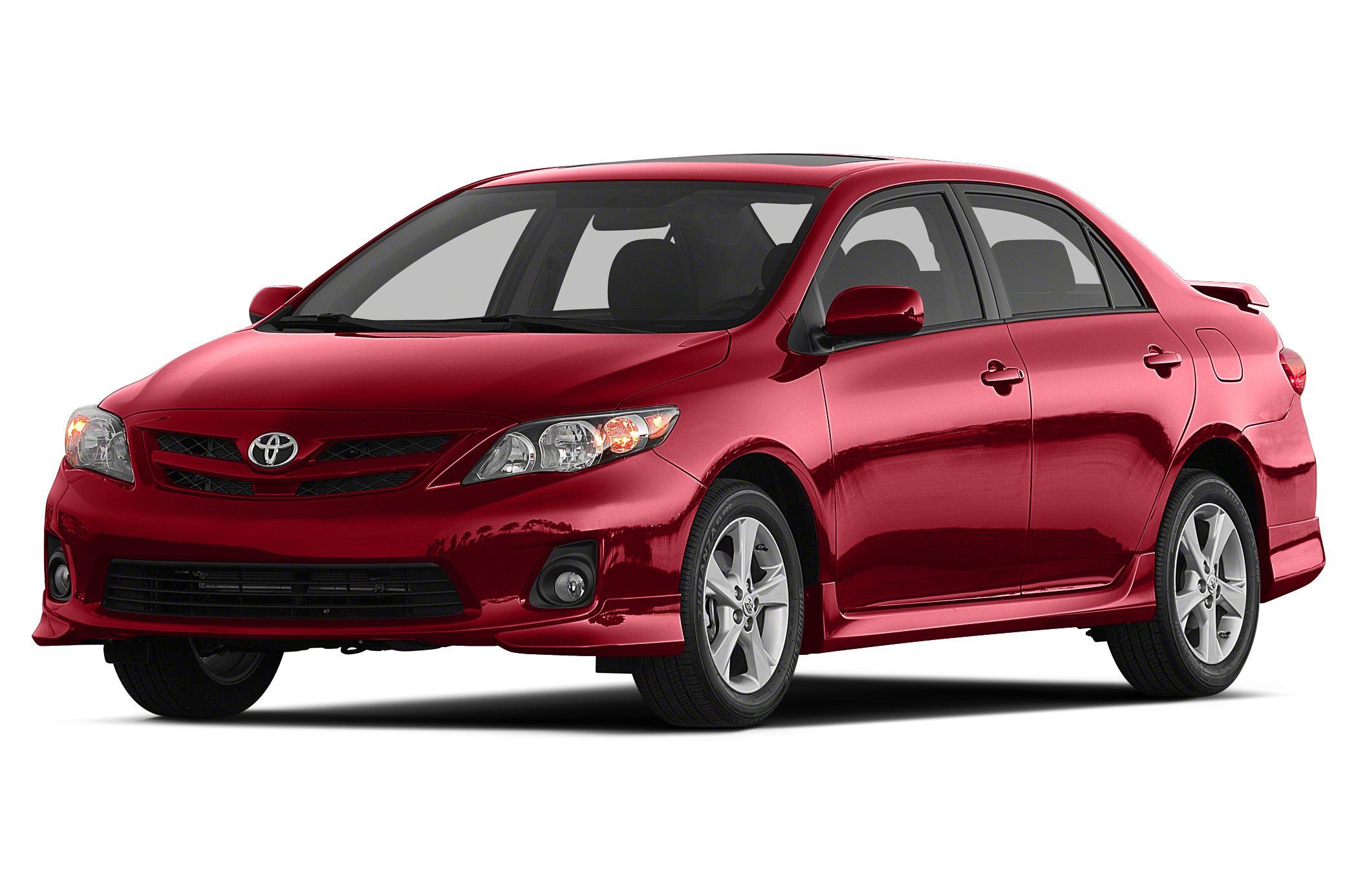 2012 Toyota Corolla S 4dr Sedan Specs And Prices