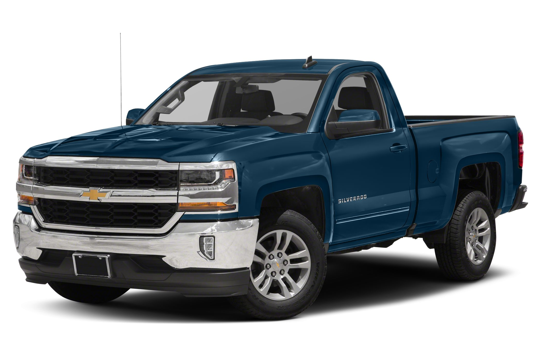 2017 Chevrolet Silverado 1500 Lt W 2lt 4x4 Regular Cab 8 Ft Box 133 In Wb Pictures
