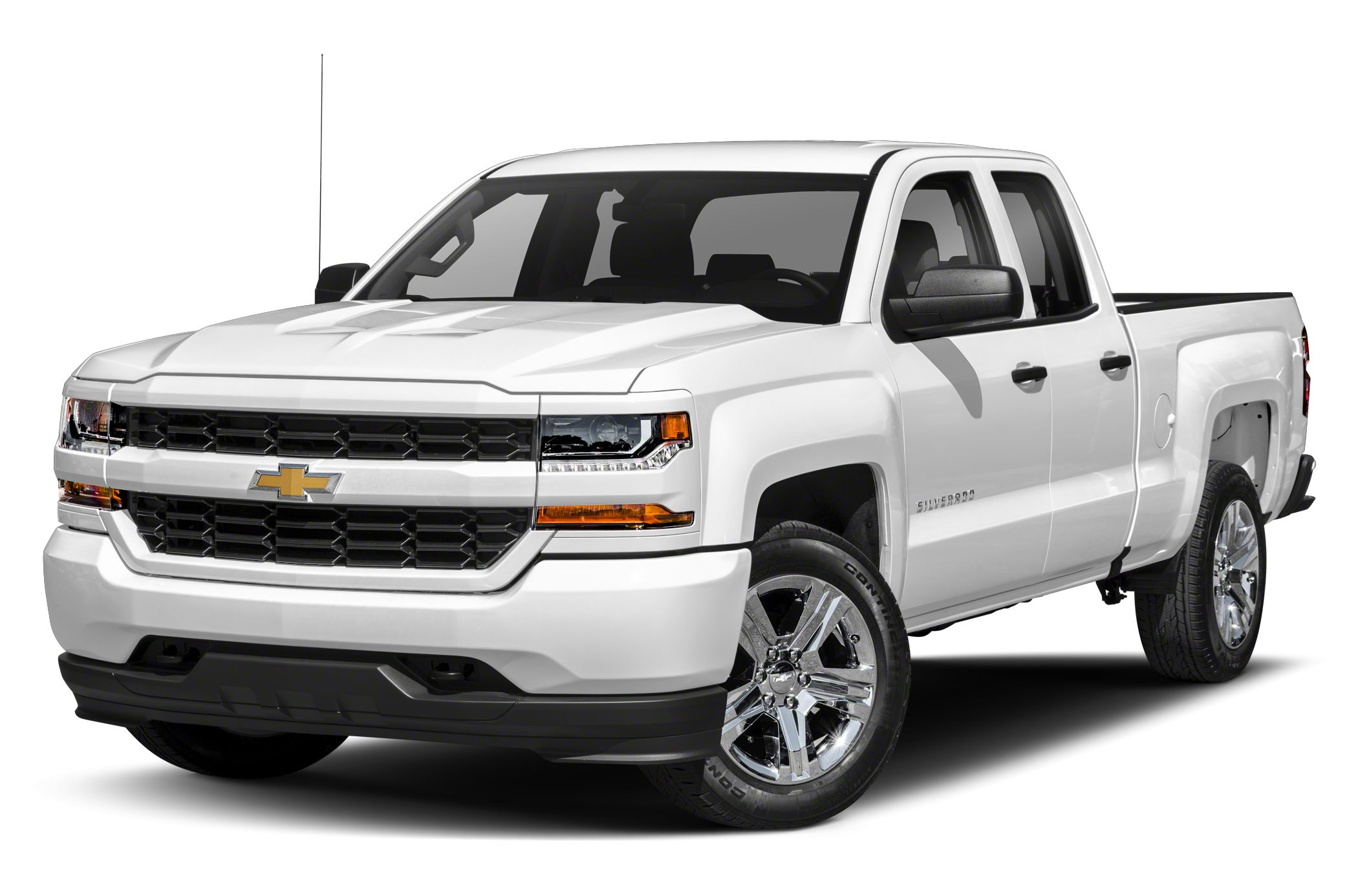 2018 Chevrolet Silverado 1500 Silverado Custom 4x2 Double Cab 6.6 ft. box 143.5 in. WB
