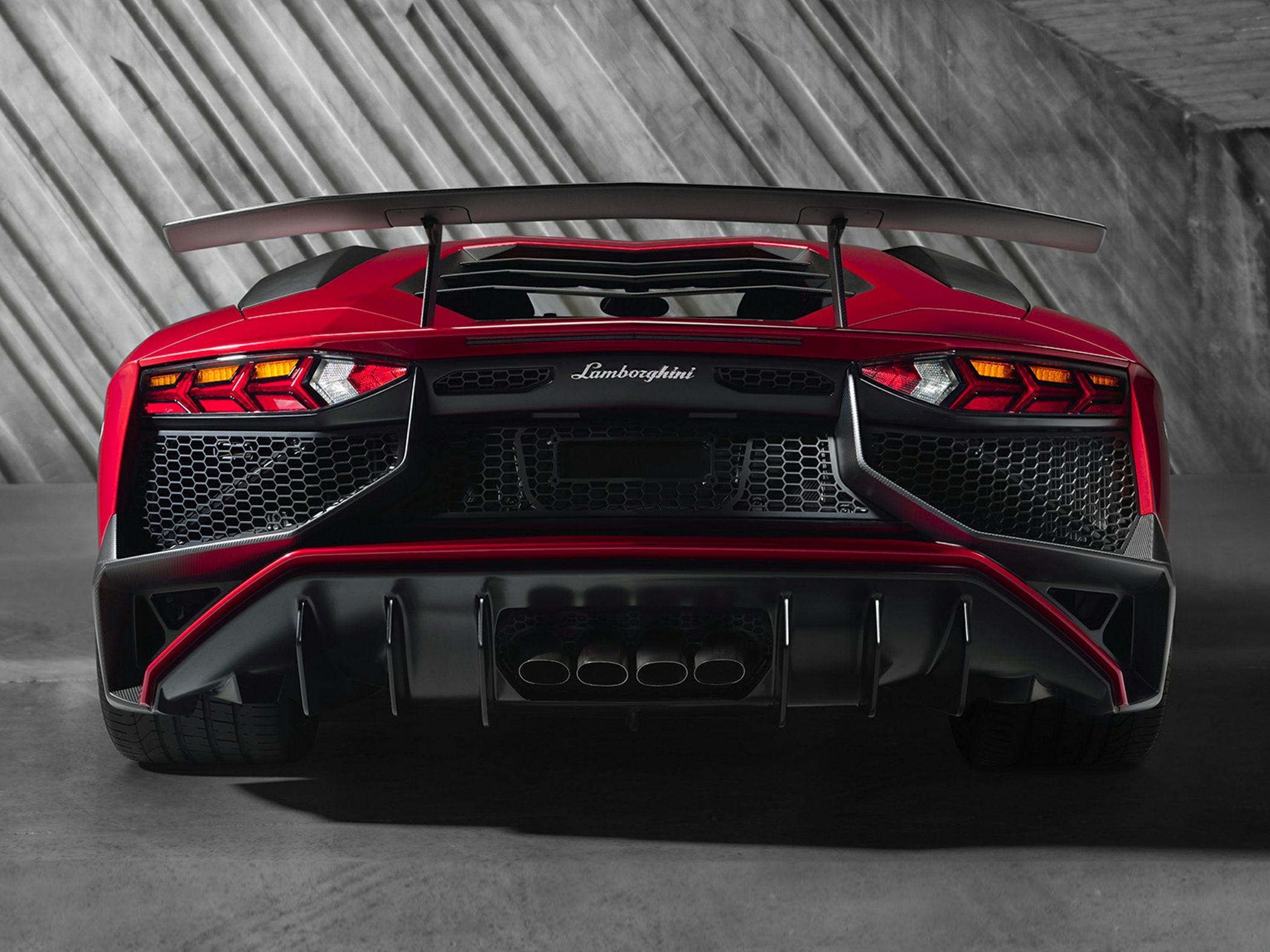 2017 Lamborghini Aventador Lp750 4 Superveloce 2dr All Wheel