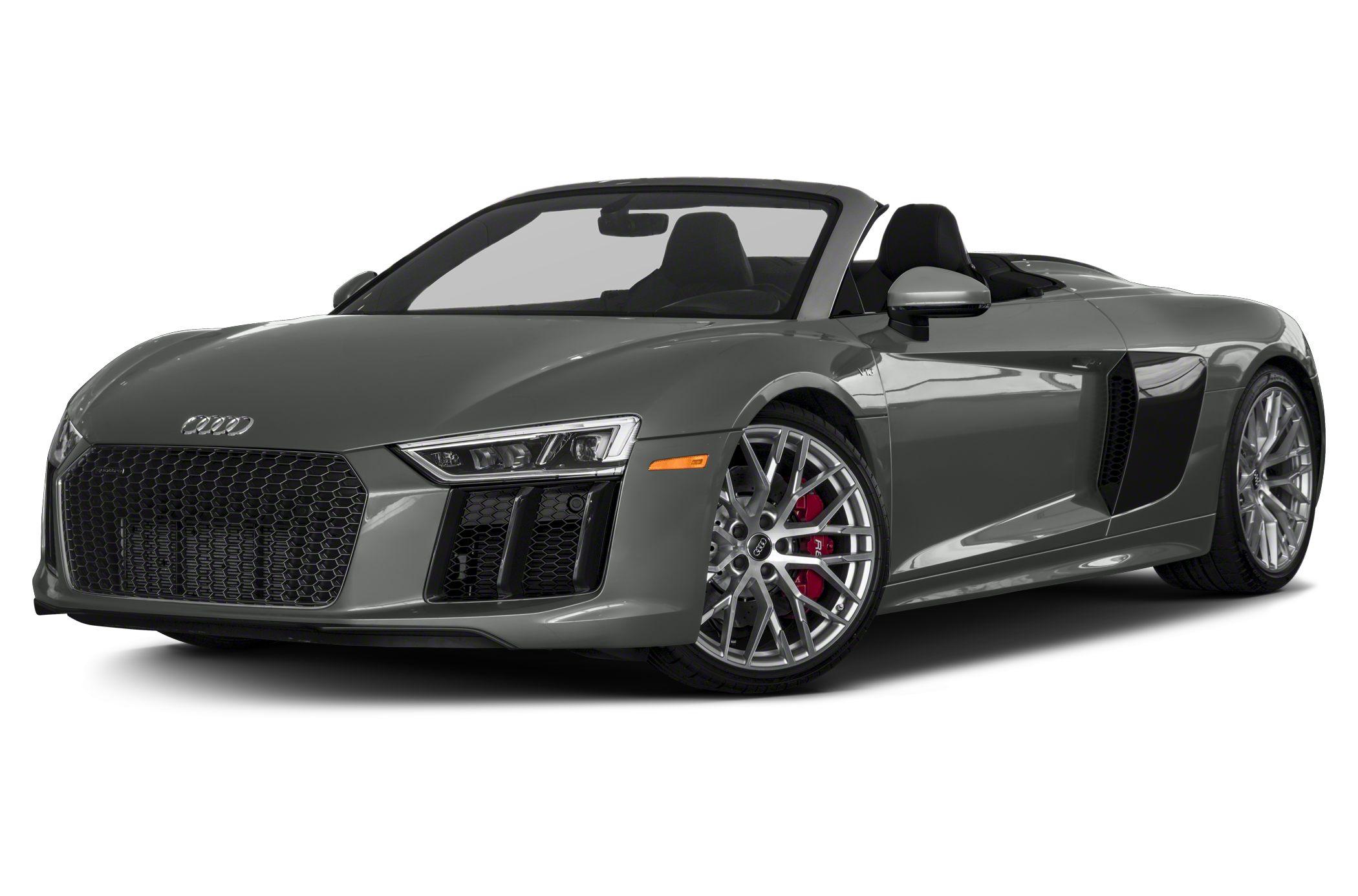 2018 Audi R8 5 2 V10 plus 2dr All wheel Drive quattro Spyder Equipment