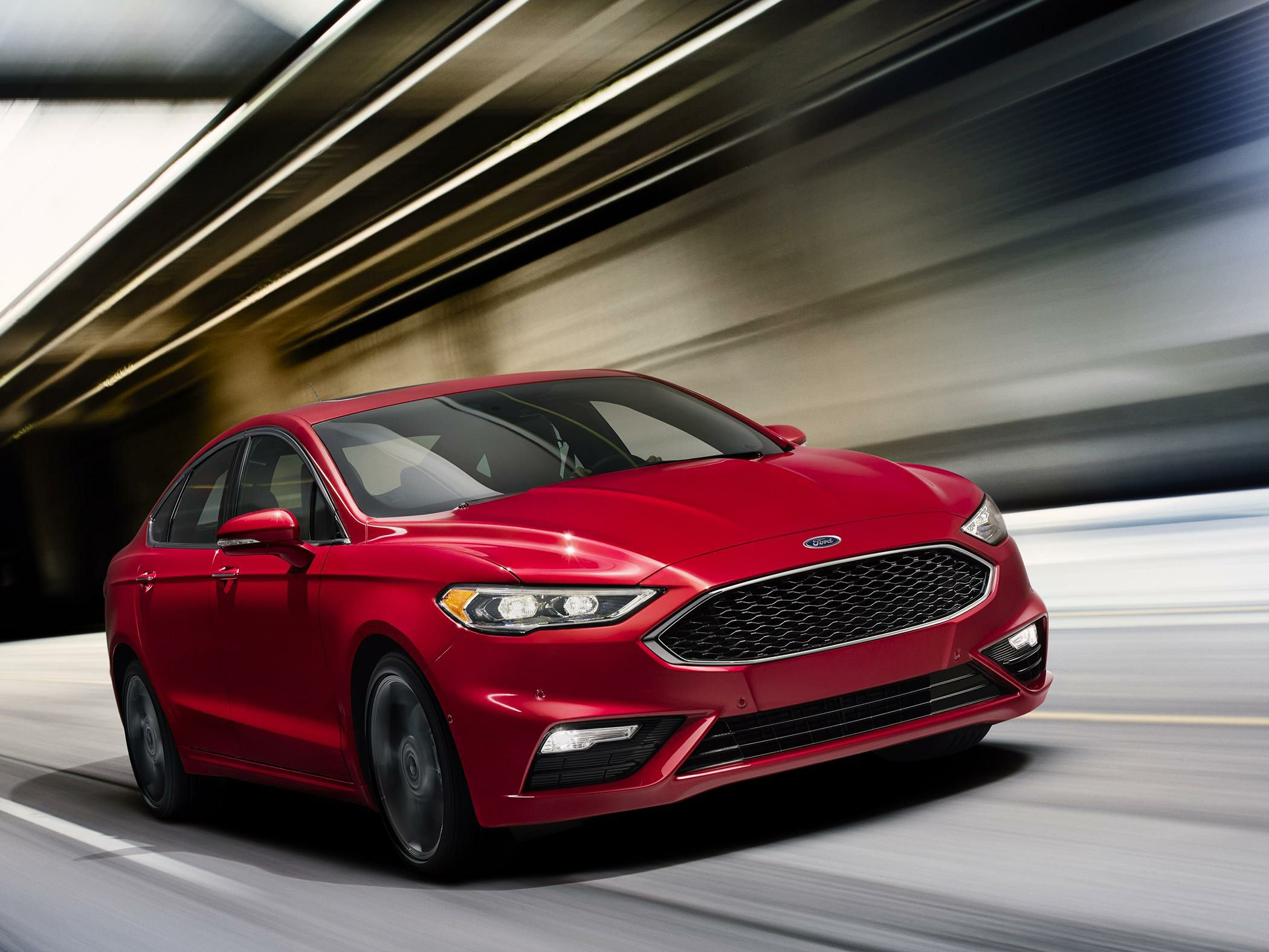 2017 Ford Fusion First Drive Autoblog