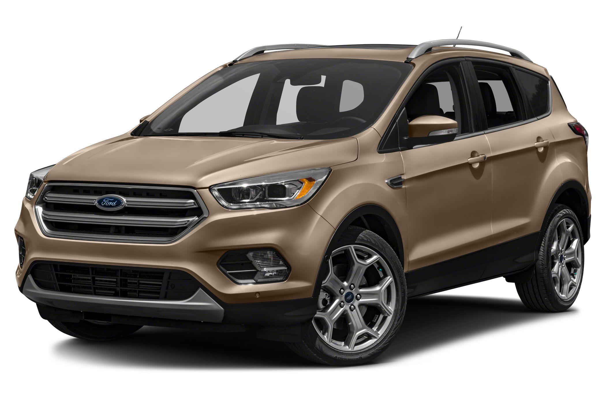 2018 Ford Escape Titanium 4dr 4x4