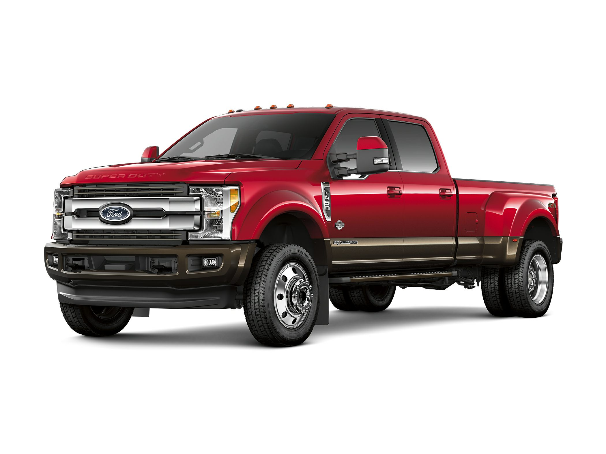 2019 Ford F-350 King Ranch 4x4 SD Crew Cab 8 ft. box 176 in. WB DRW