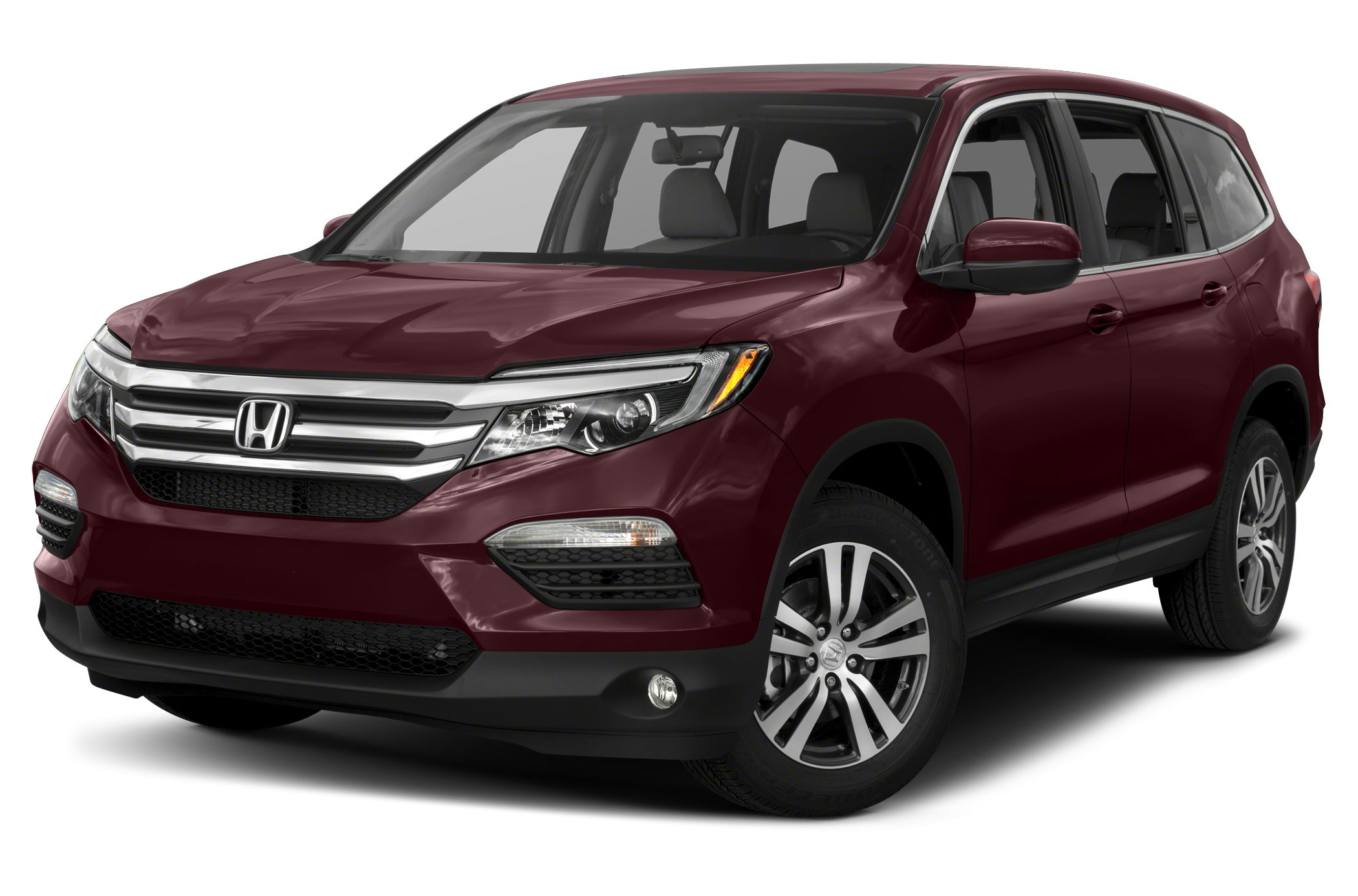 front in honda house of pilot highlights parked desktop