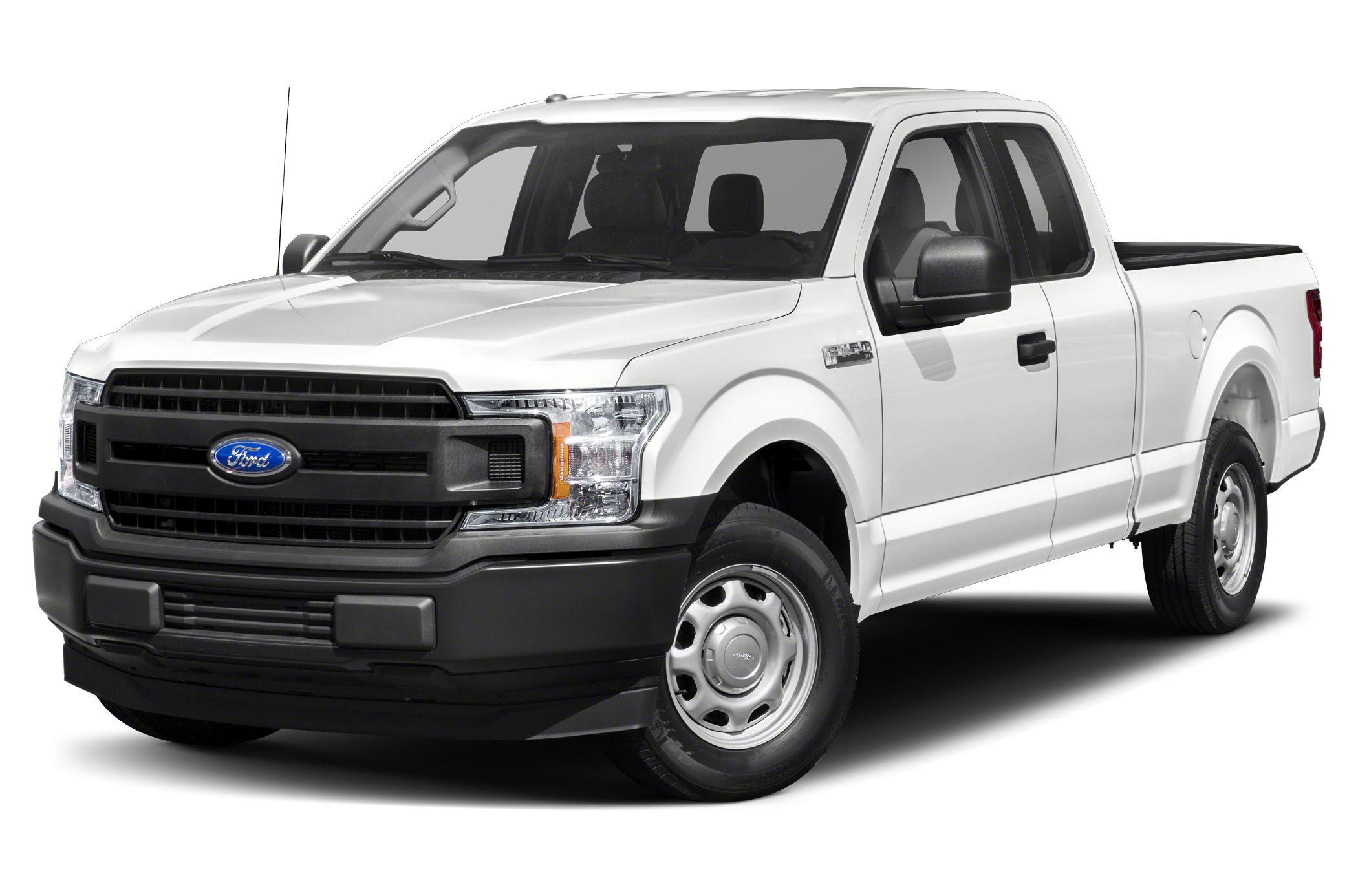 2019 Ford F-150 Lariat 4x4 SuperCab Styleside 8 ft. box 163 in. WB