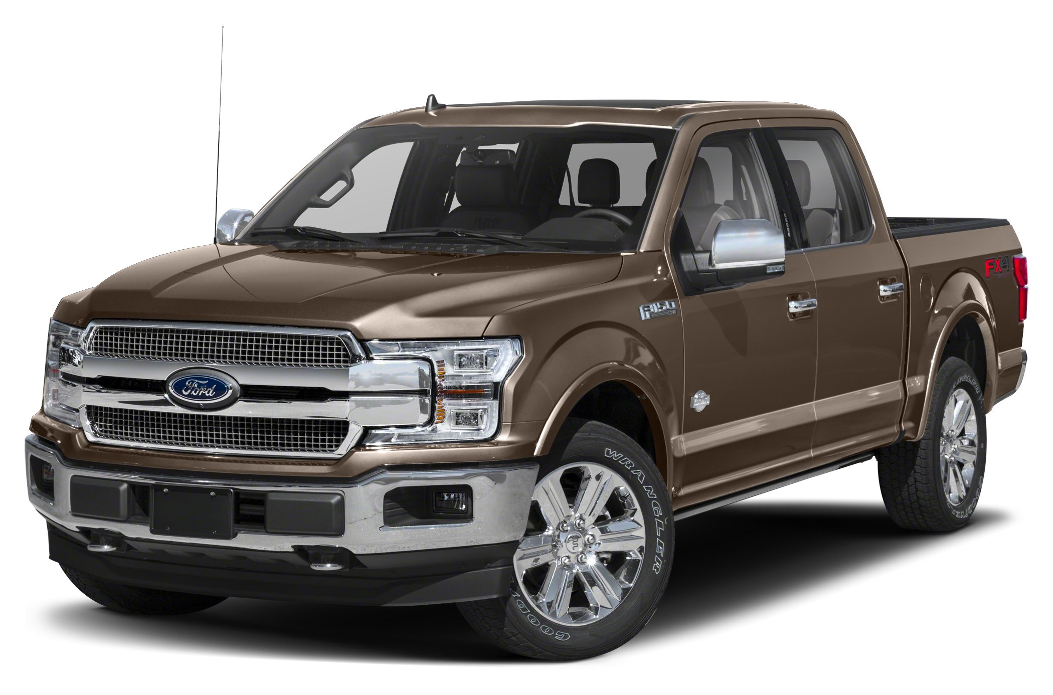 2018 Ford F-150 King Ranch 4x4 SuperCrew Cab Styleside 5.5 ft. box 145 in. WB