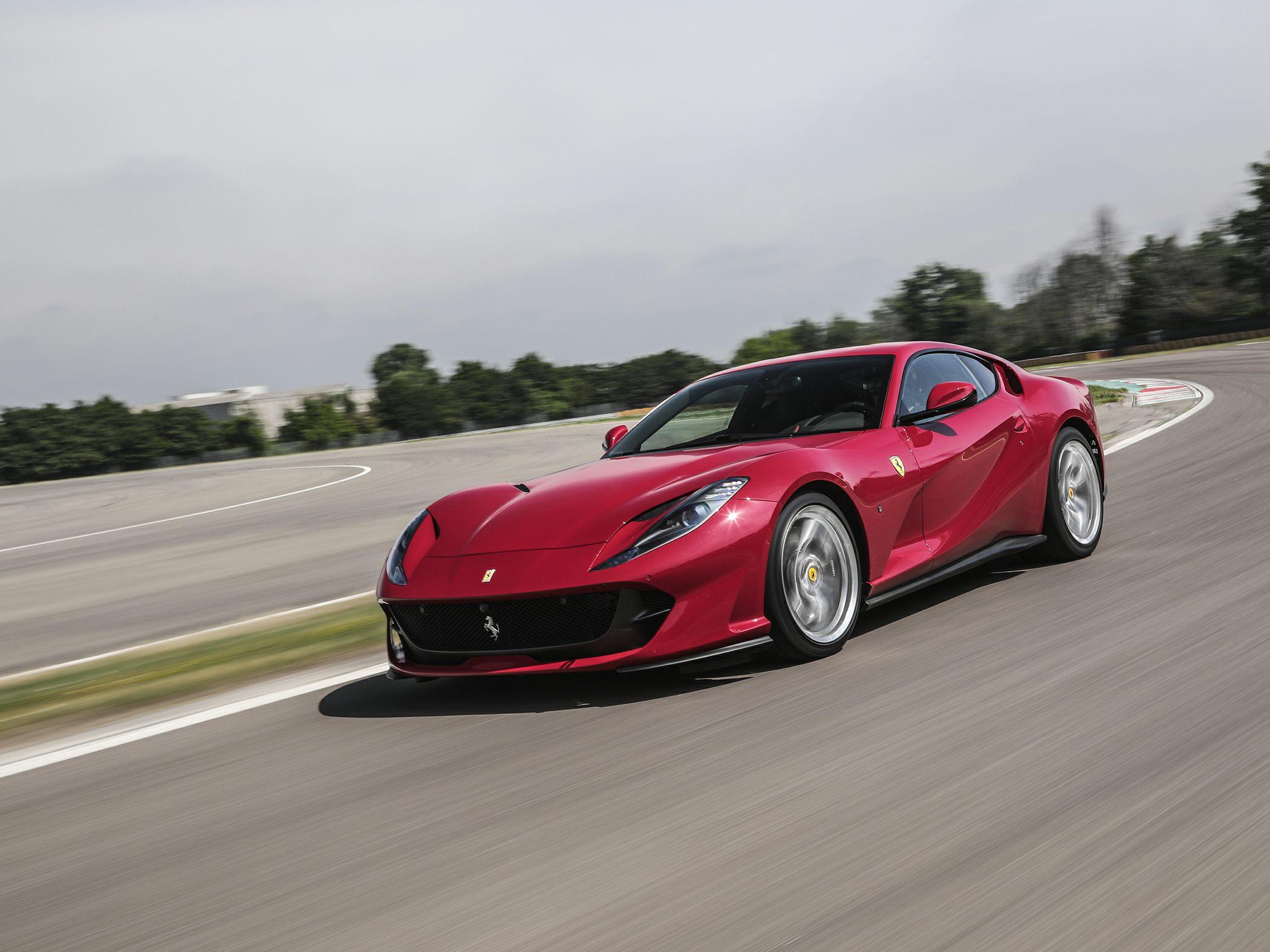 New Ferrari 812 prototype spotted crawling around Maranello