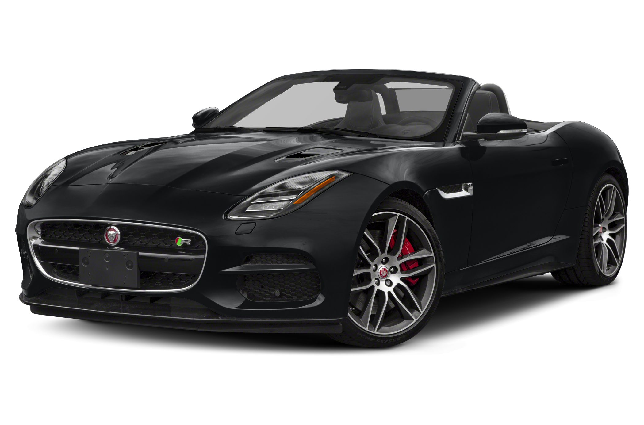 Jaguar F Type Black Convertible