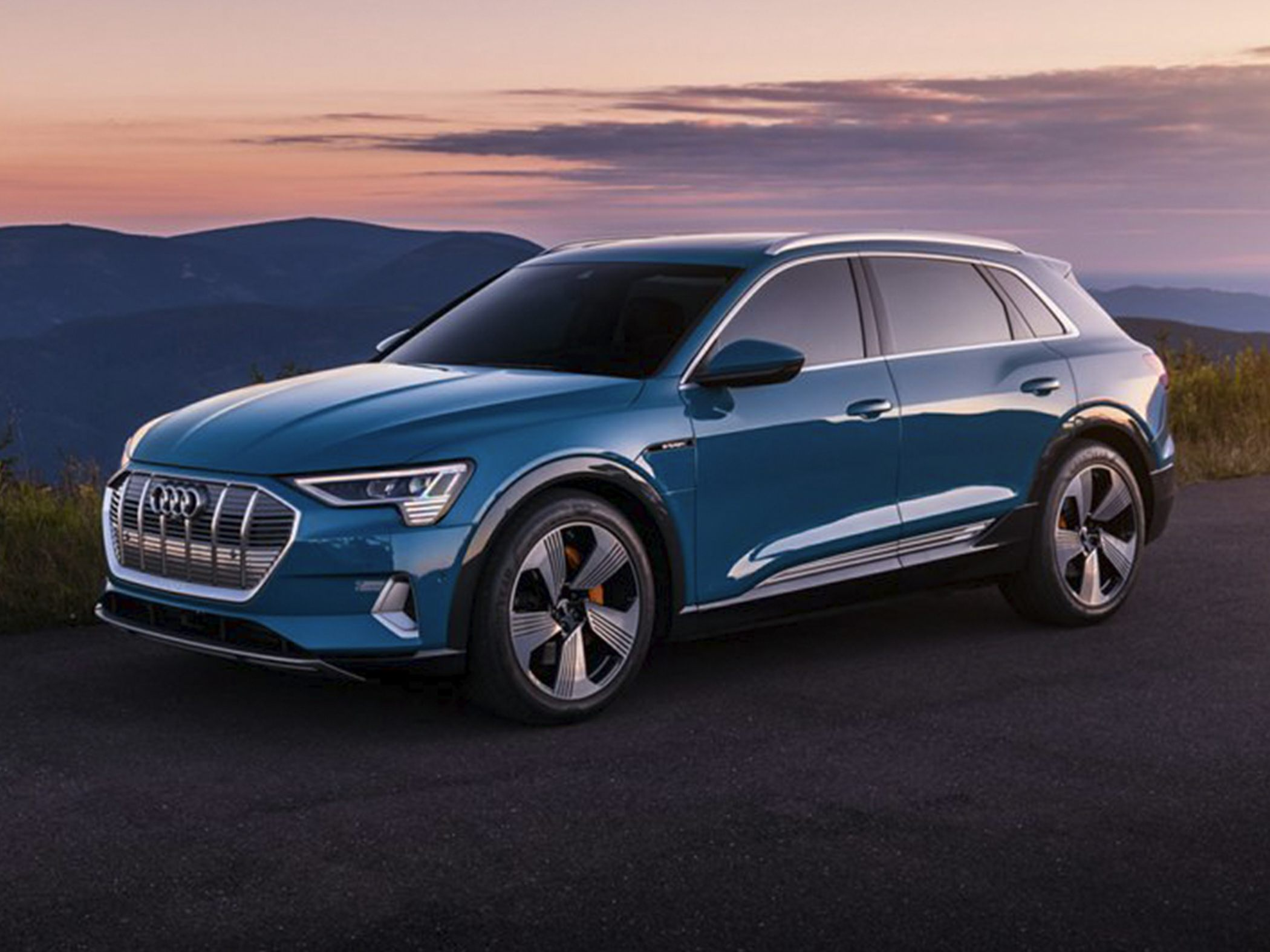 audi plans a smaller q4 e tron crossover ev will show it. Black Bedroom Furniture Sets. Home Design Ideas