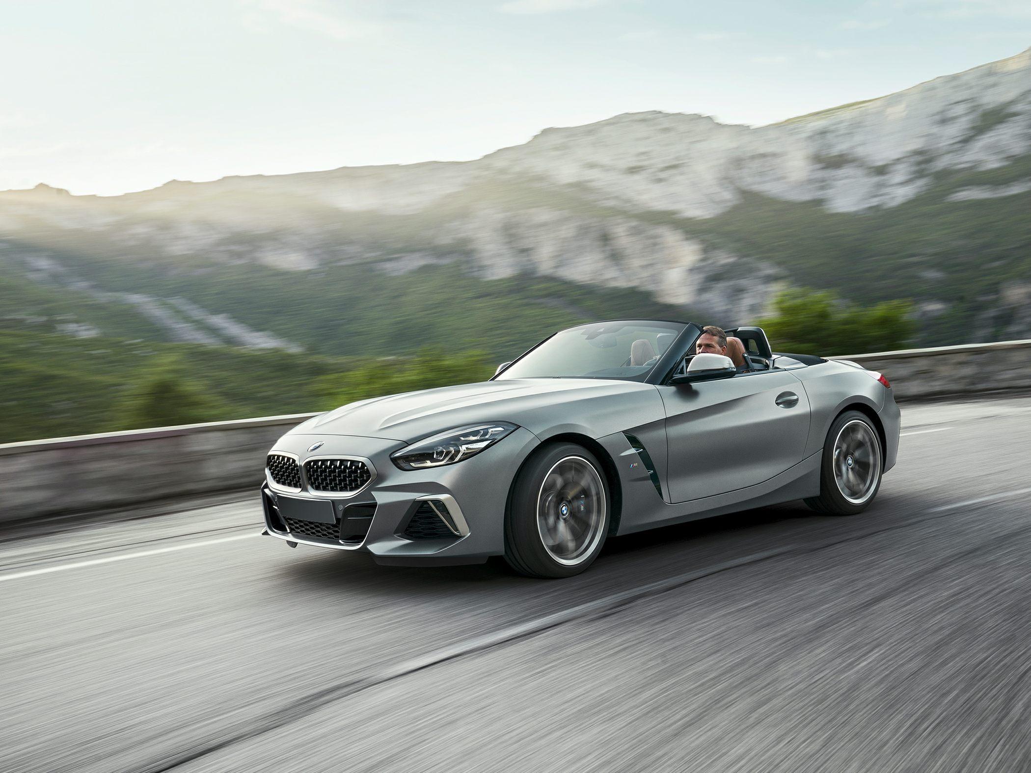 2021 BMW Z4 Roadster Engine