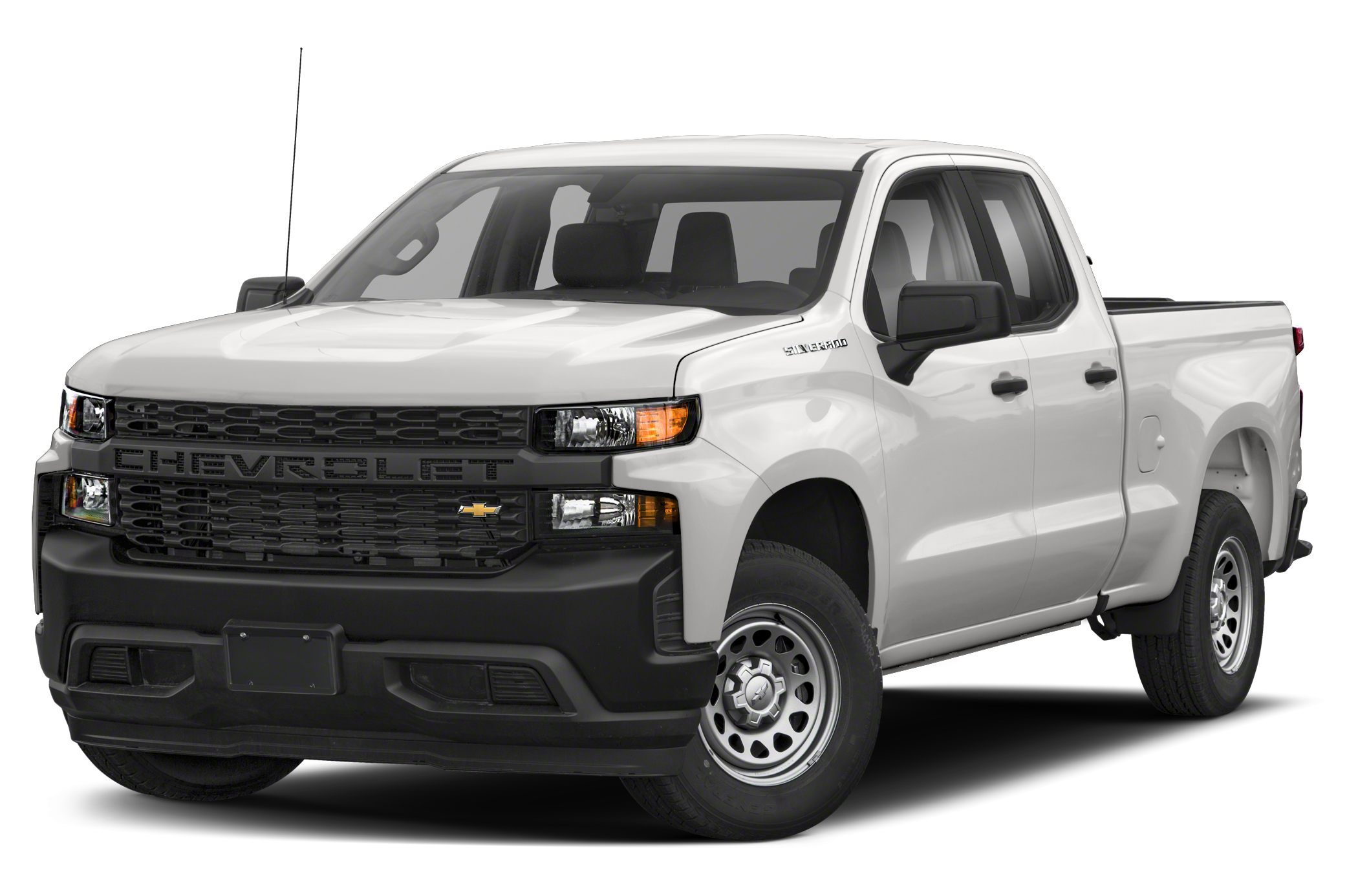 2019 Chevrolet Silverado 1500 Work Truck 4x4 Double Cab 6.6 ft. box 147.4 in. WB