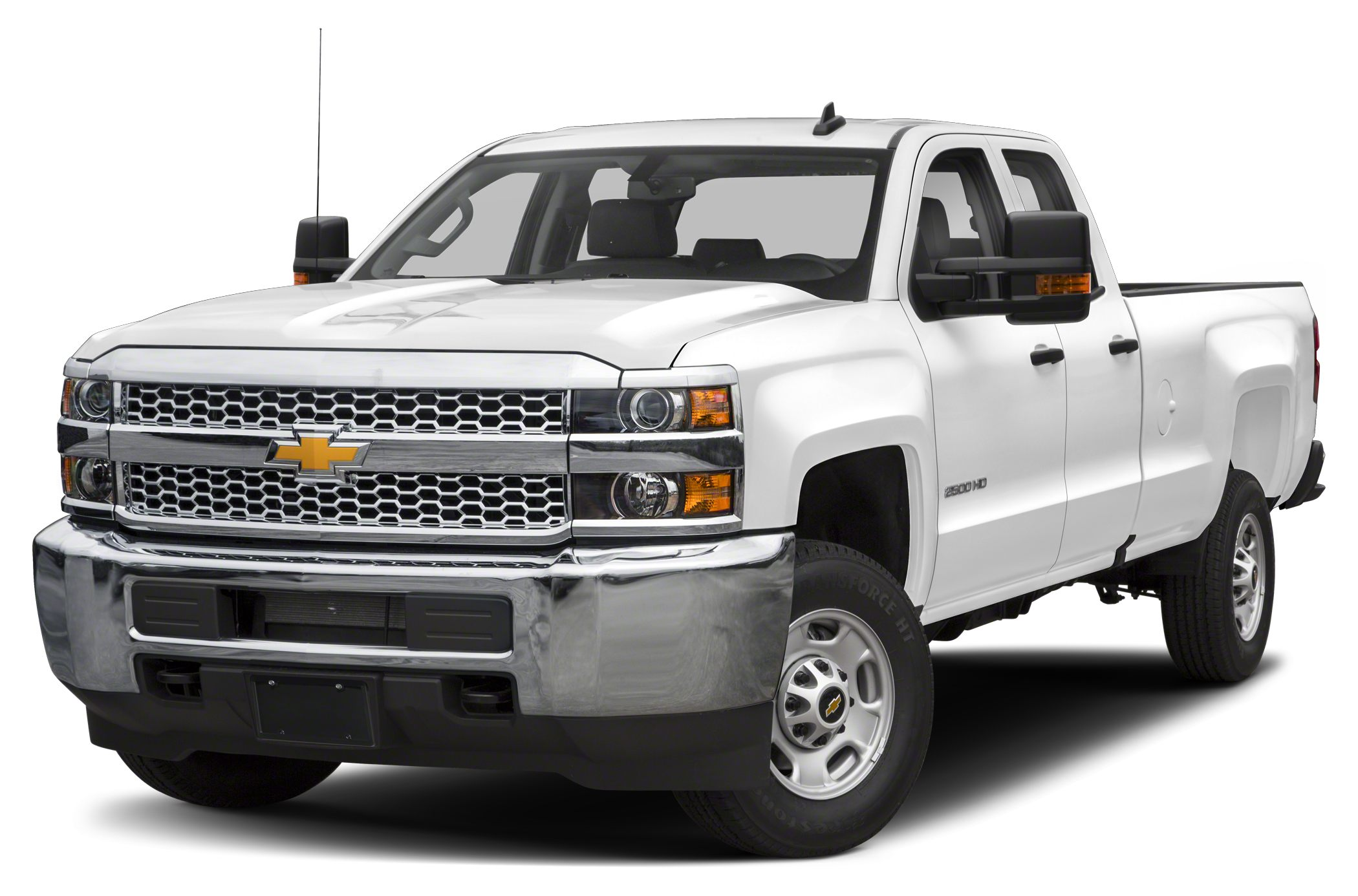 2019 Chevrolet Silverado 2500HD WT 4x4 Double Cab 8 ft. box 158.1 in. WB