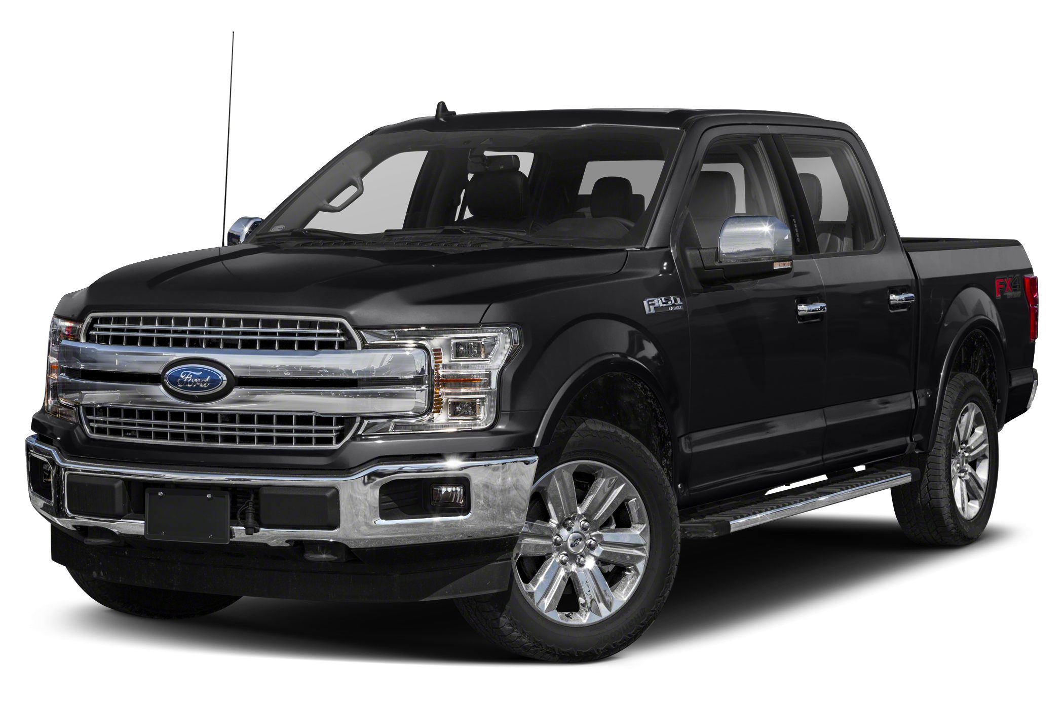 2018 Ford F-150 Lariat 4x4 SuperCrew Cab Styleside 5 5 ft  box 145 in  WB  Pictures