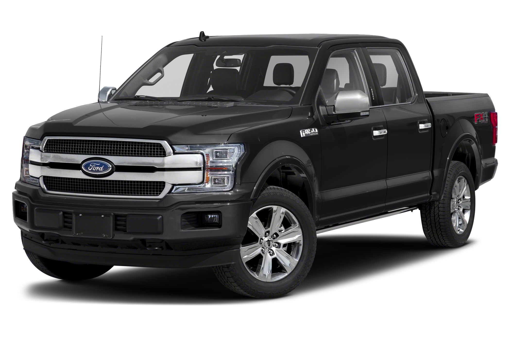 2020 Ford F-150 Platinum 4x4 SuperCrew Cab Styleside 5.5 ft. box 145 in. WB