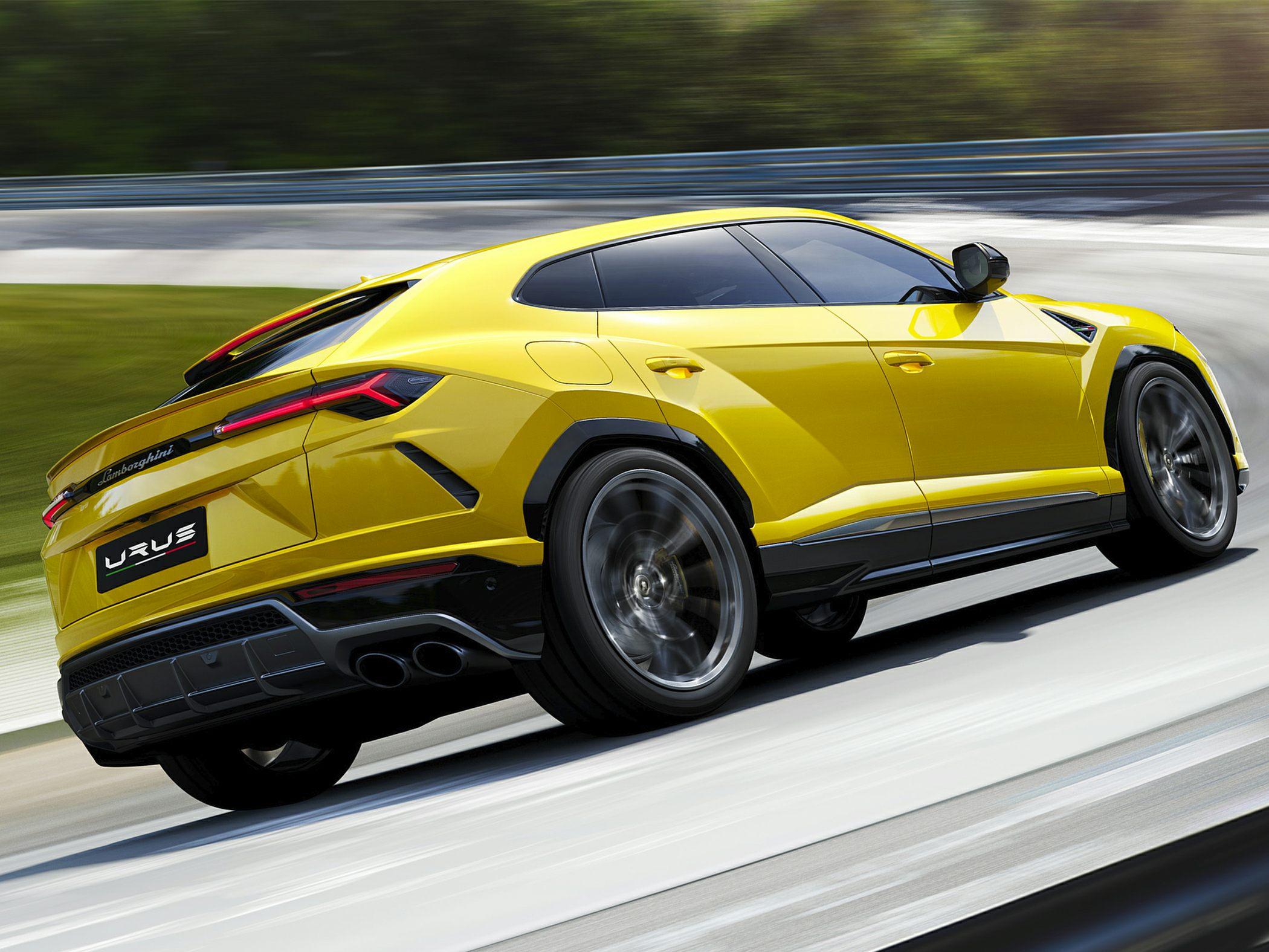 2019 Lamborghini Urus Track Test Review Autoblog