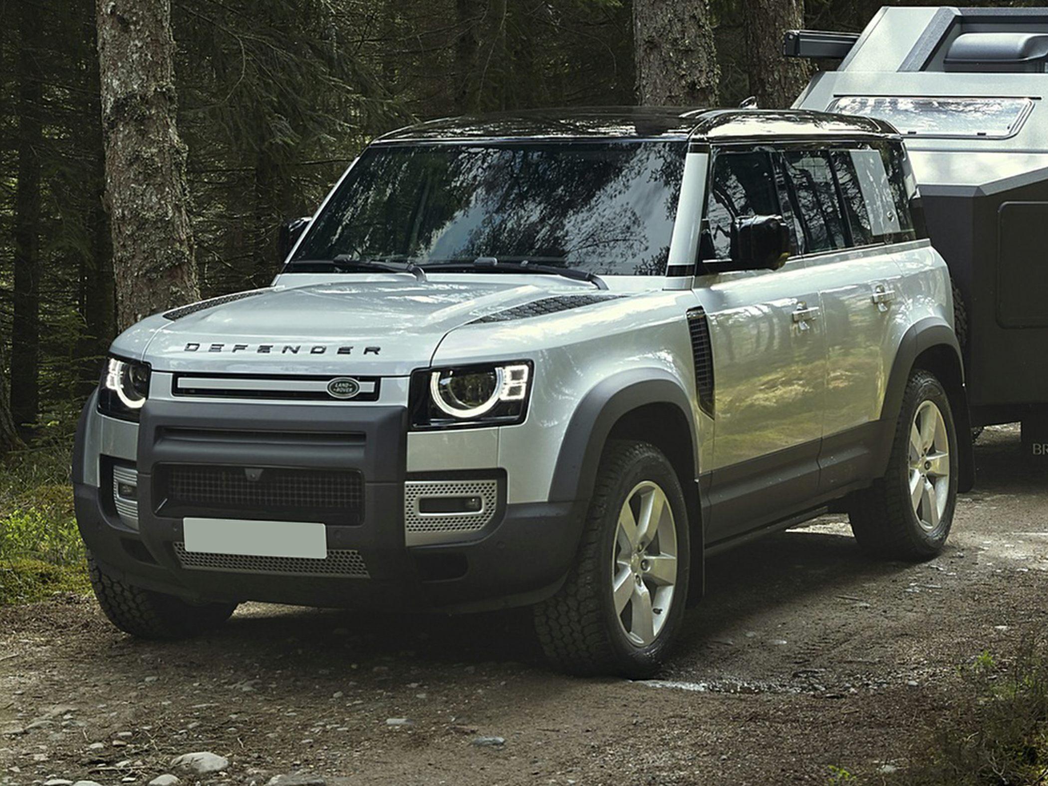 2021 Land Rover Defender PHEV, diesel six-cylinder ...