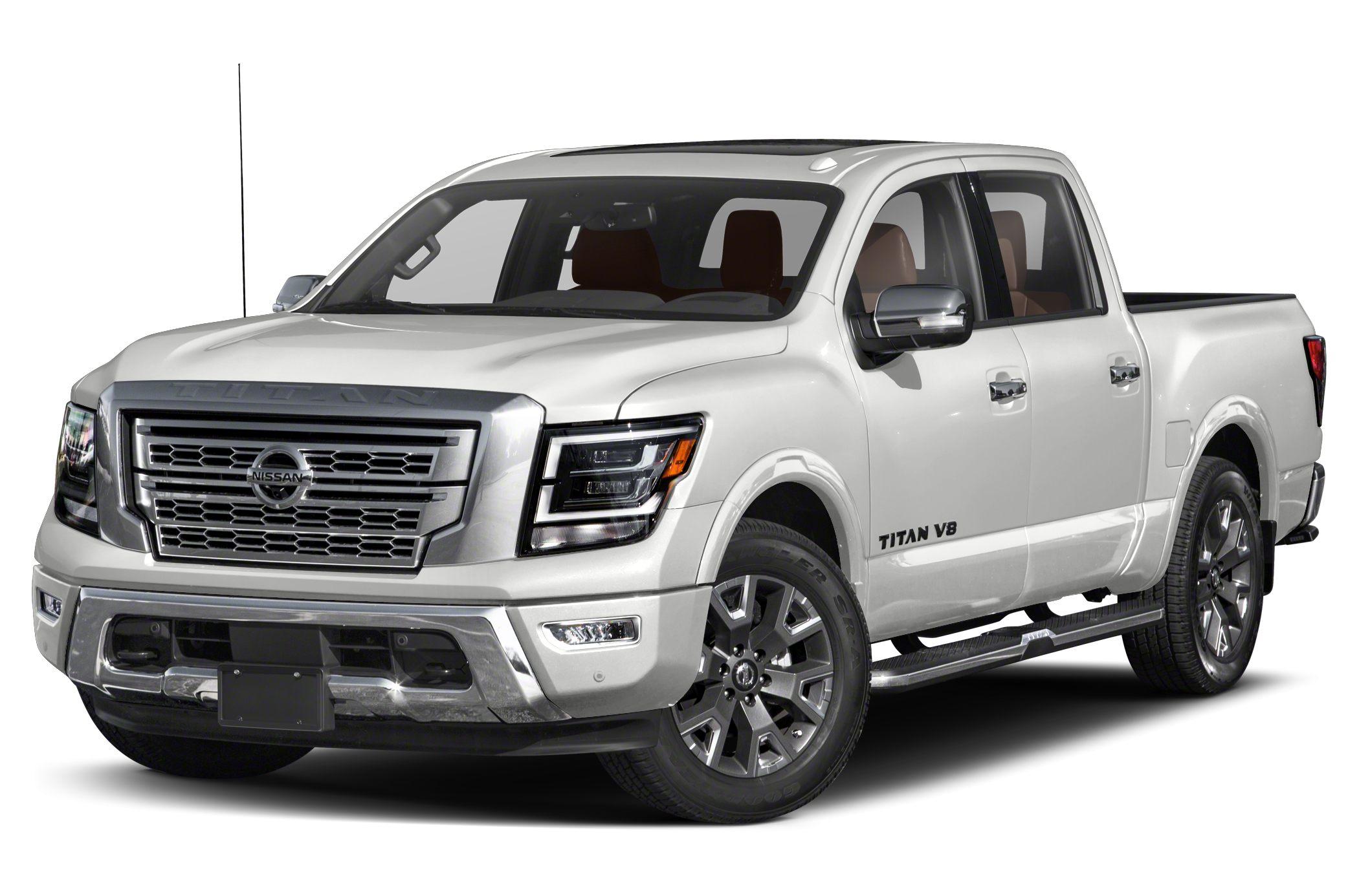 2020 Nissan Titan Platinum Reserve 4dr 4x2 Crew Cab 5 5 Ft Box 139 8 In Wb Specs And Prices