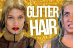 Full Head of Glitter CHALLENGE (Beauty Break)