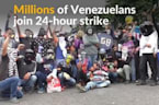 Millions in Venezuela join strike against Maduro