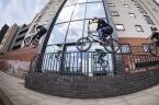 BMX STREET: Ben Gordon in Manchester