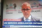 Un journaliste de TVA a failli se faire écraser par un camion en direct