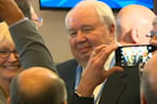 Russian envoy at the heart of U.S. probe leaves post